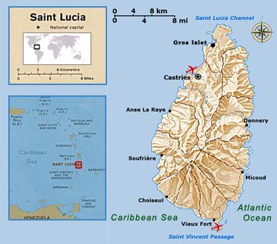 Pinnacle St Lucia St Lucia Factbook